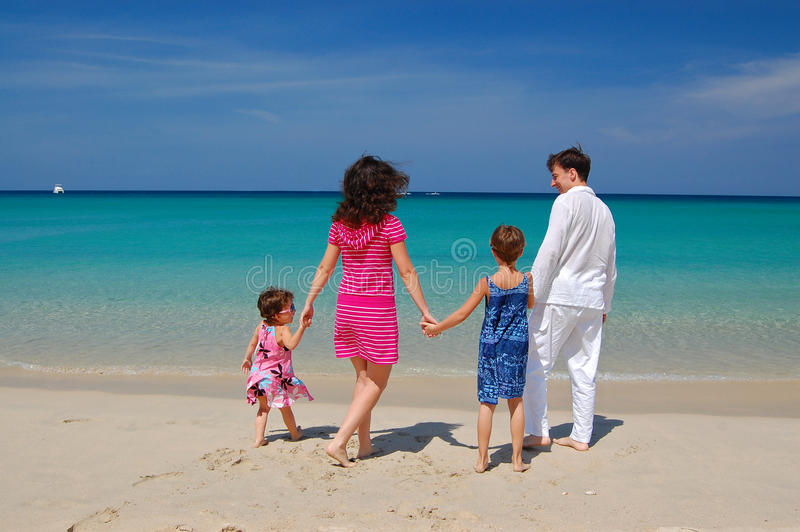 Download Family on the beach stock photo. Image of husband, summer - 13588842