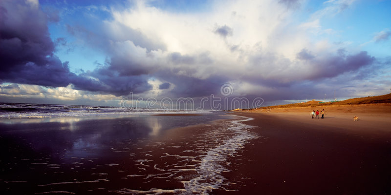 Download Family on the beach stock image. Image of children, father - 1839699