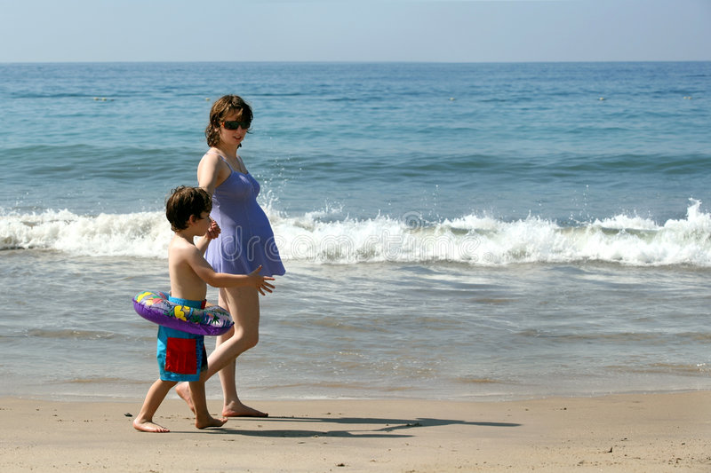 Download Family on the beach stock photo. Image of ocean, life - 1899376