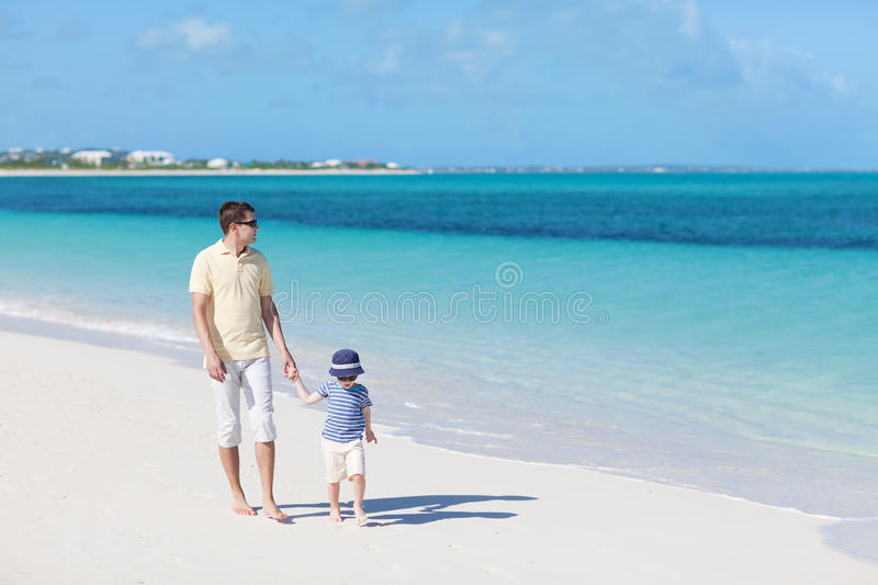 Download Family at the beach stock photo. Image of cute, barefoot - 29020830
