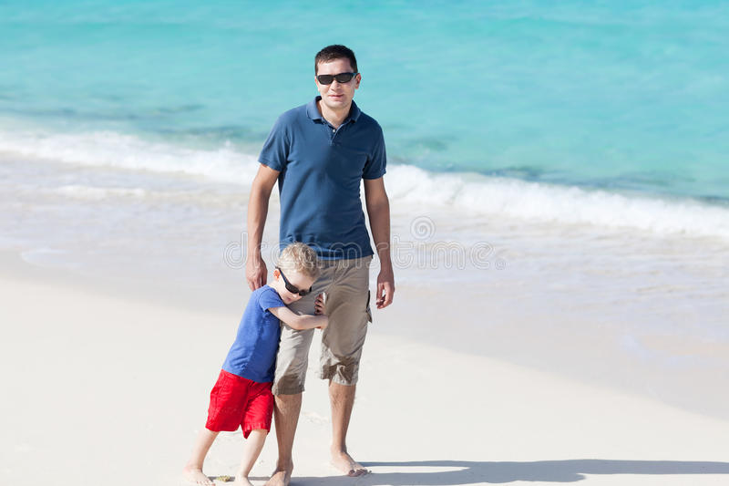 Download Family at the beach stock image. Image of father, holding - 29431833