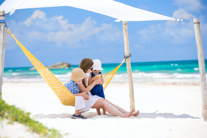 Download Family on beach vacation stock photo. Image of parent - 21204162