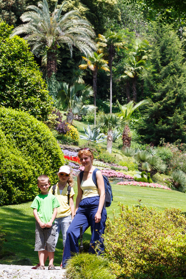 Download Family  In Beautiful Summer Park. Stock Photo - Image: 27365028