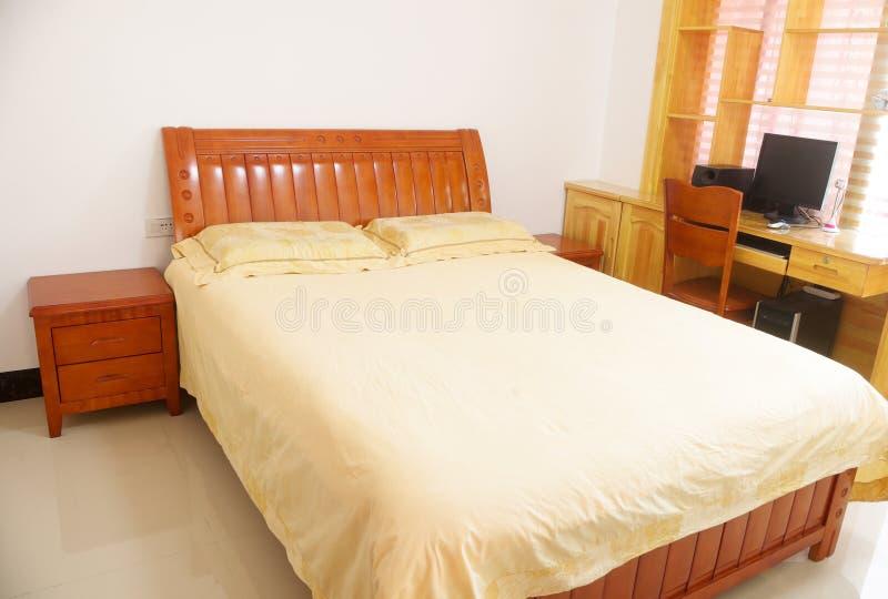 Family bedroom stock image