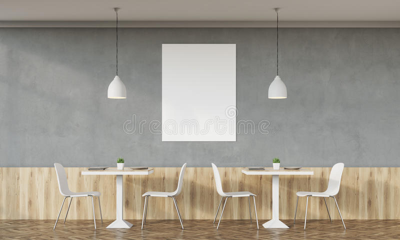 download family cafe with concrete wall stock illustration image 78117431 - Concrete Cafe Interior