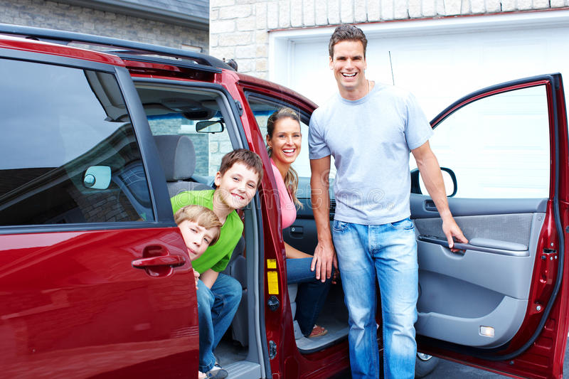 Download Family car stock image. Image of smile, happy, summer - 18461995