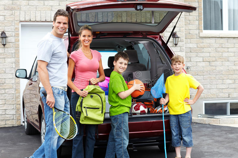 Download Family Car Royalty Free Stock Photos - Image: 18462088
