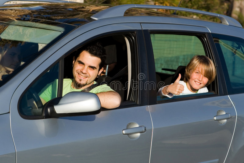 Download Family car hire or rental stock image. Image of explore - 8095789