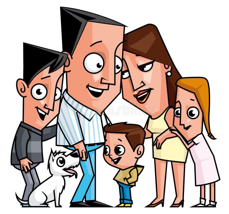 Download Family stock illustration. Illustration of love, happy - 33782966