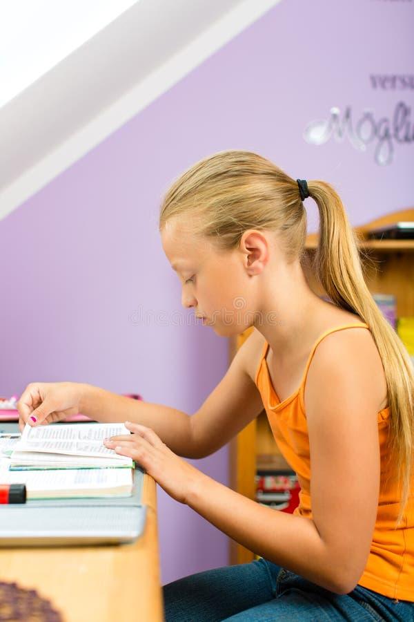 Download Family - Child Doing Homework Stock Image - Image: 26487091