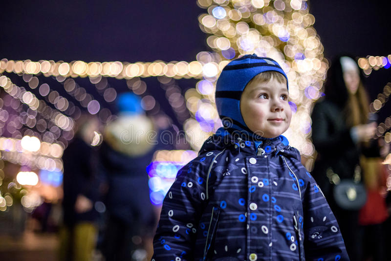 Download Family, Childhood, Season And People Concept - Happy In Winter C Stock Photo - Image: 83705884