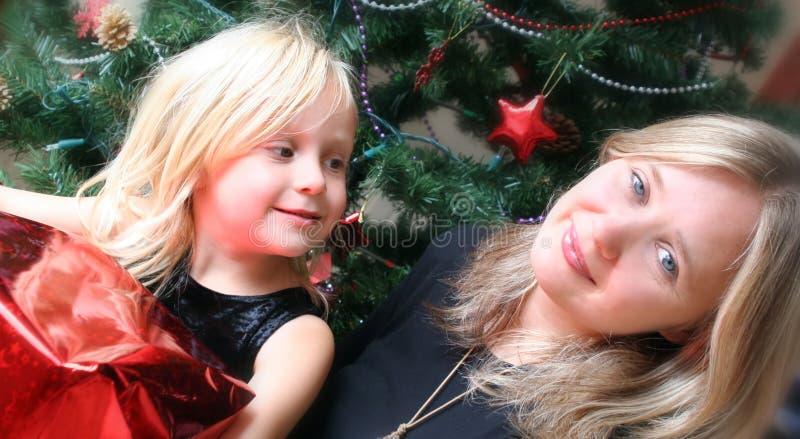 Family Christmas stock photos