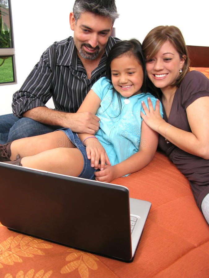 Download Family computer stock photo. Image of person, laptop - 14124370