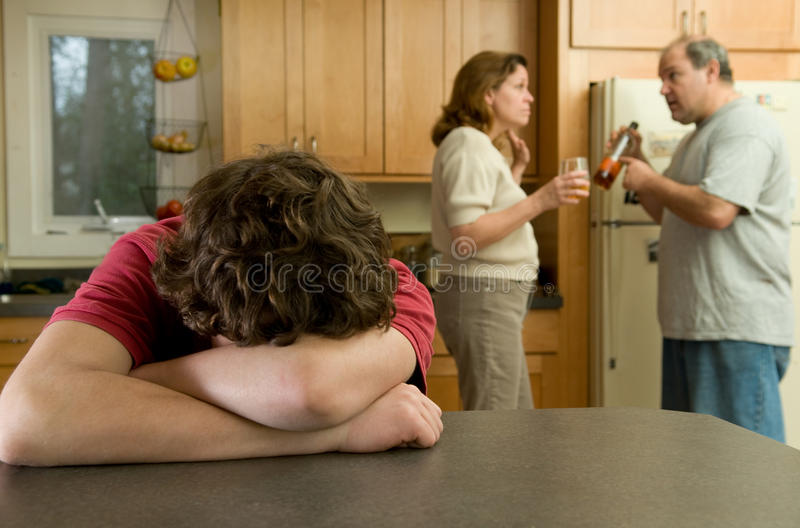 Family Conflict Royalty Free Stock Photo