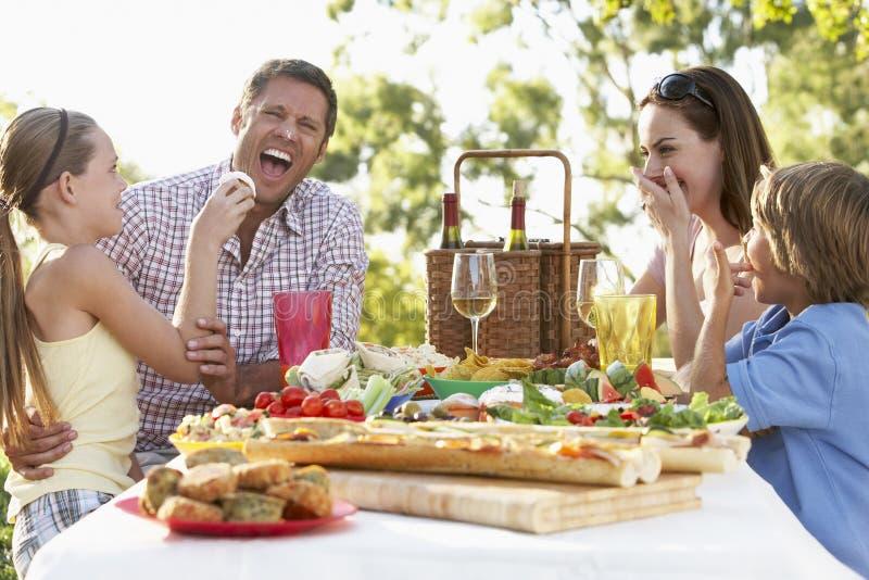 Download Family Dining Al Fresco Stock Photos - Image: 7870483