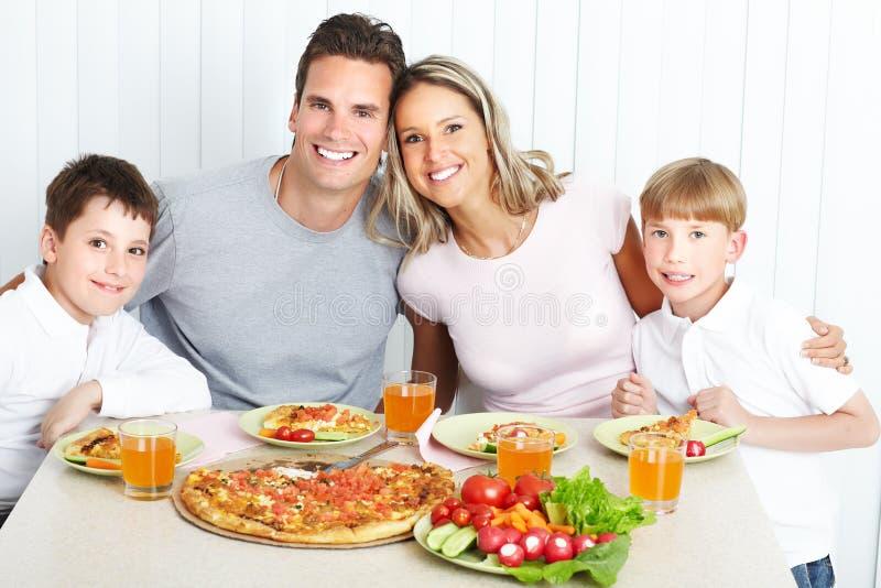 Download Family dinner stock image. Image of children, portrait - 18567423
