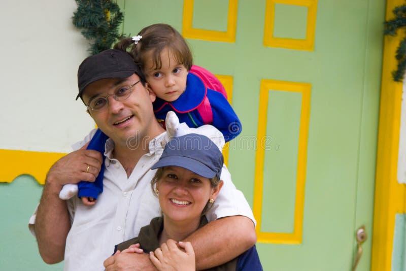 A family enjoying royalty free stock photo