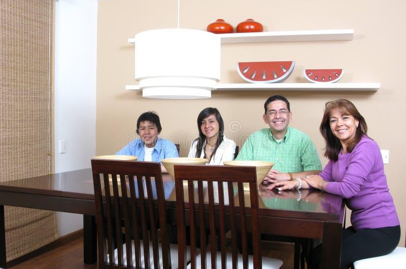 Download Family Enjoying Mealtime Stock Images - Image: 12846544