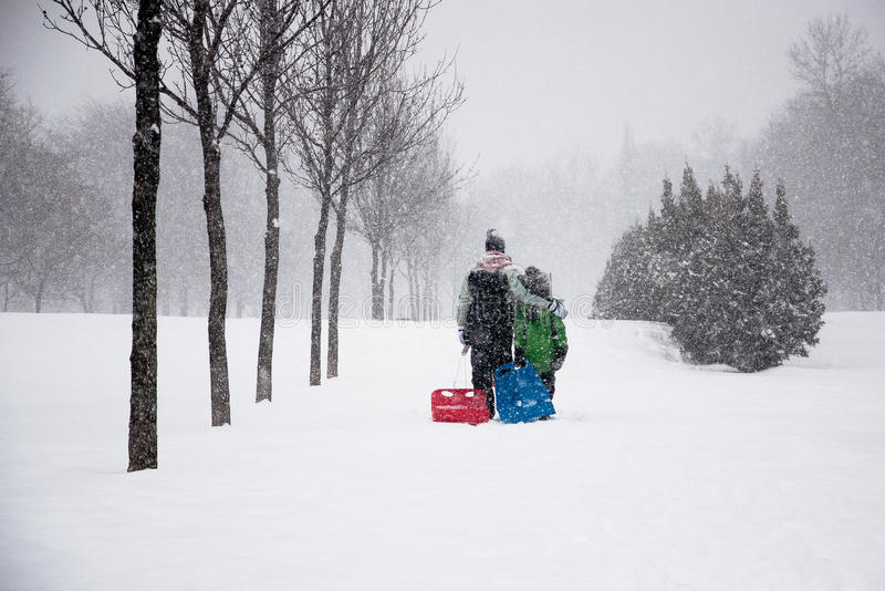 Download Family Enjoying Winter stock photo. Image of happy, person - 17918916