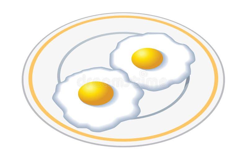 Family favorite eggs royalty free illustration