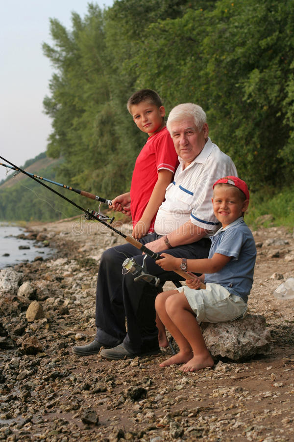 Free Family Fishing Stock Photo - 13360970