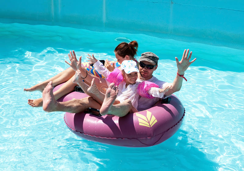 Download Family floating stock image. Image of tourists, park - 21678307