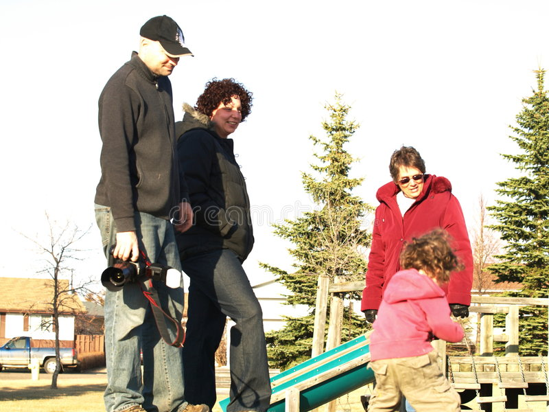Download Family fun stock image. Image of playground, ladies, horizontal - 9207693