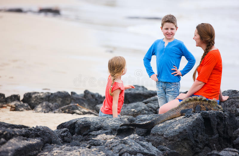 Download Family At Galapagos Royalty Free Stock Image - Image: 28879896