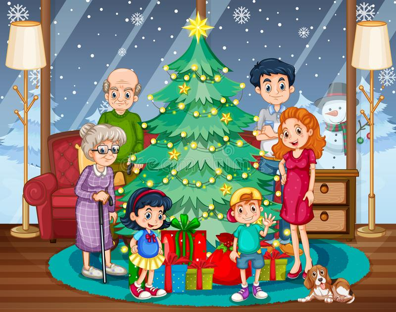 Family Gathering Together Christmas Celebration Stock Illustrations 47 Family Gathering Together Christmas Celebration Stock Illustrations Vectors Clipart Dreamstime