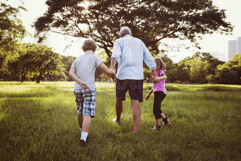 Family Generations Parenting Togetherness Relaxation Concept royalty free stock photo