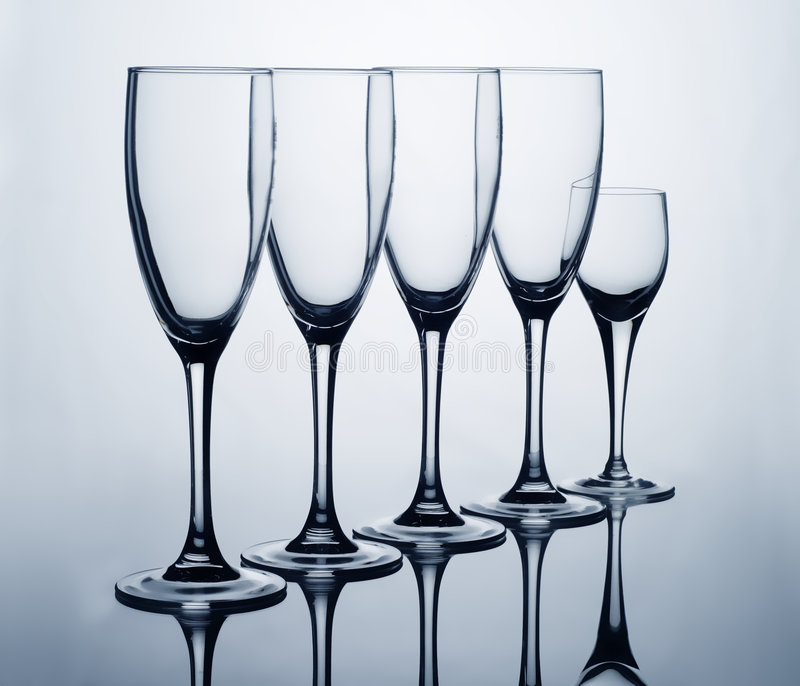 Family Glass. Set with back light royalty free stock image