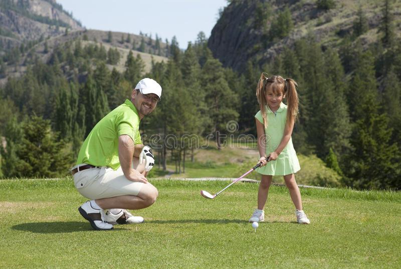 Download Family Golf stock photo. Image of happy, looking, active - 18867858