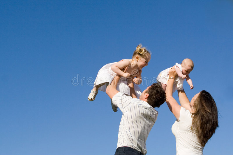 Family group stock photography