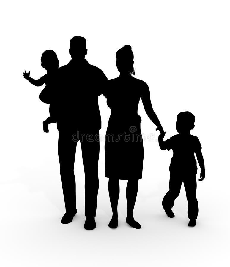 Family Group royalty free stock photos