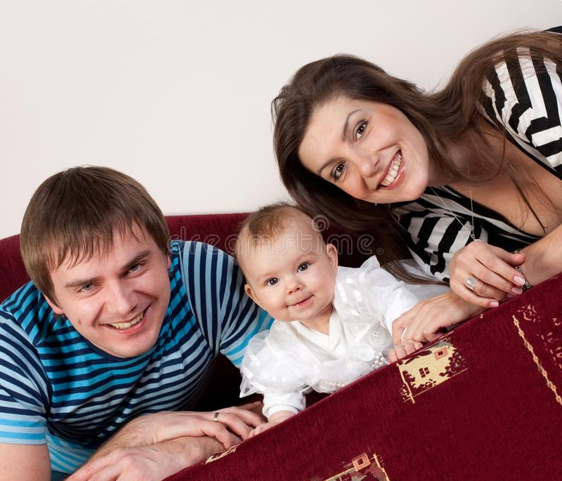 Download Family happy love stock image. Image of resting, cuddle - 13558621
