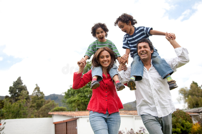 Download Family having fun stock photo. Image of togetherness, people - 8572270