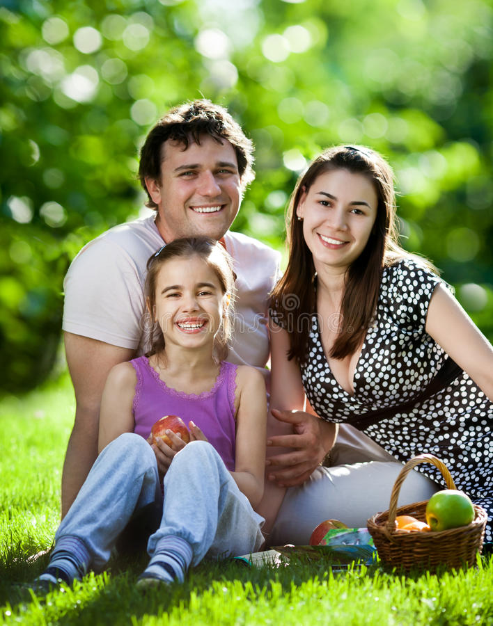 Download Family Having Picnic Outdoors Stock Image - Image: 23179317