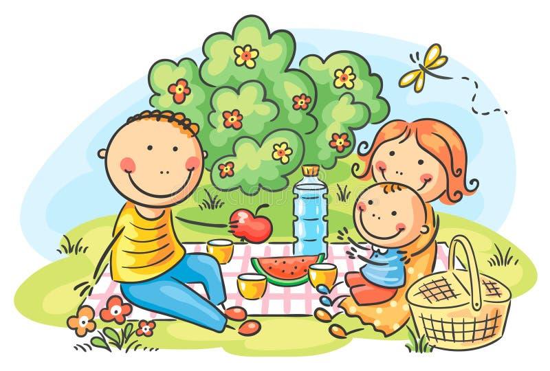 family having picnic outdoors stock vector illustration family reunion picnic clipart family picnic clipart free