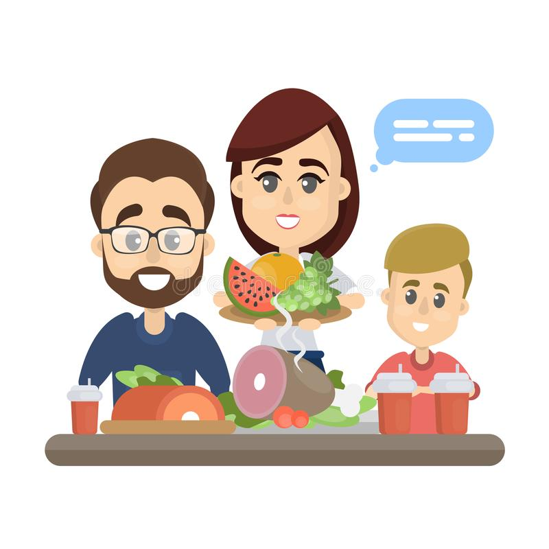 Eating Family Healthy Talking Stock Illustrations 37 Eating Family Healthy Talking Stock Illustrations Vectors Clipart Dreamstime