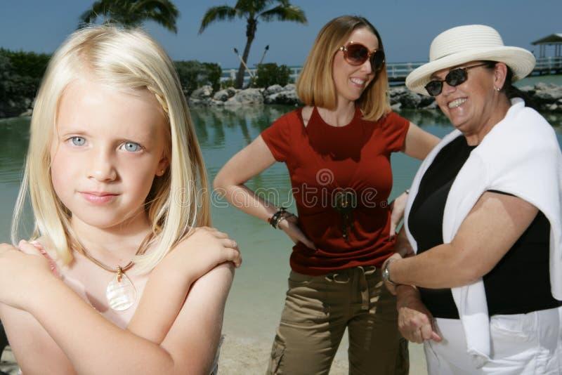 Family Holiday royalty free stock image