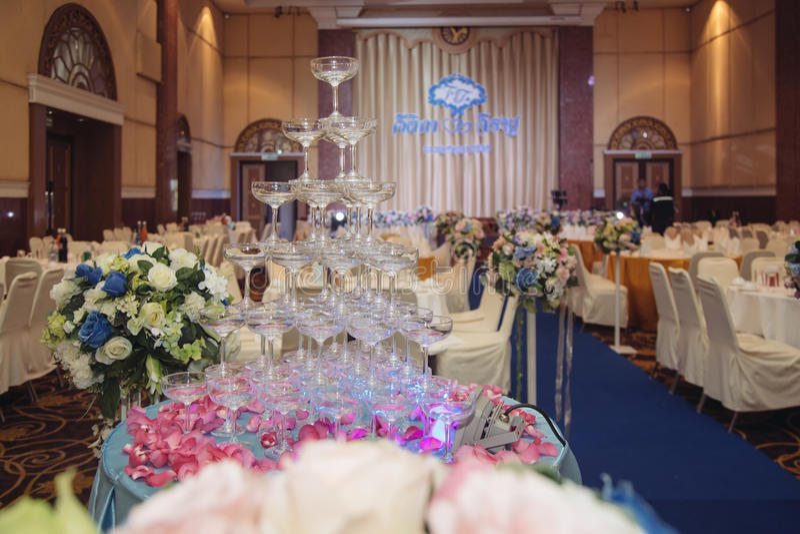Family holiday, wedding. Family holiday with wedding ceremony royalty free stock image