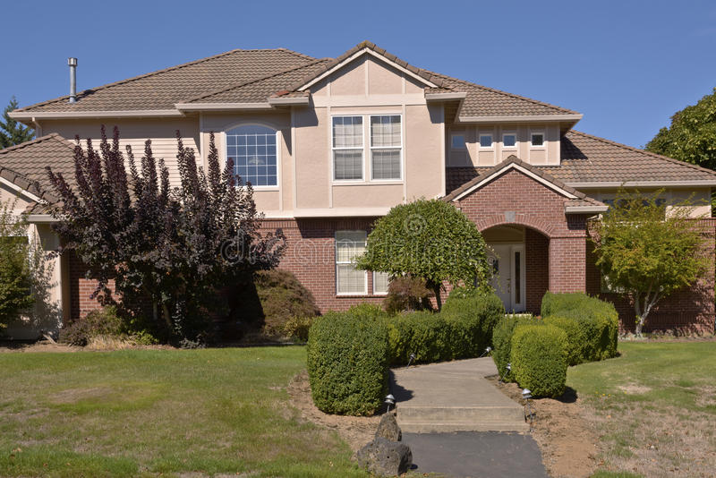 Family home in Happy valley Oregon. royalty free stock images