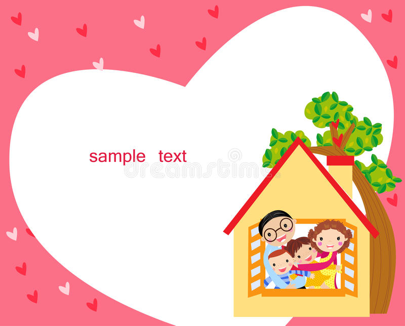 Download Family house stock vector. Illustration of house, mother - 18539251