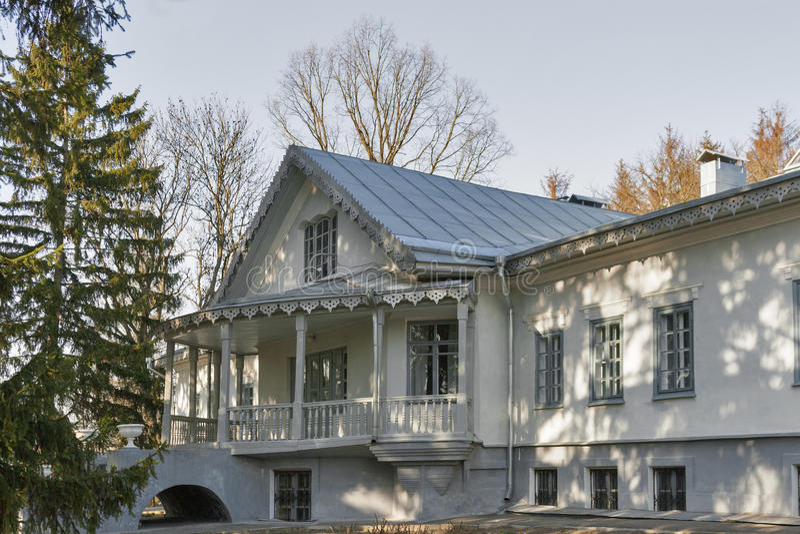 Family House Estate Of Nikolay Pirogov Stock Photo