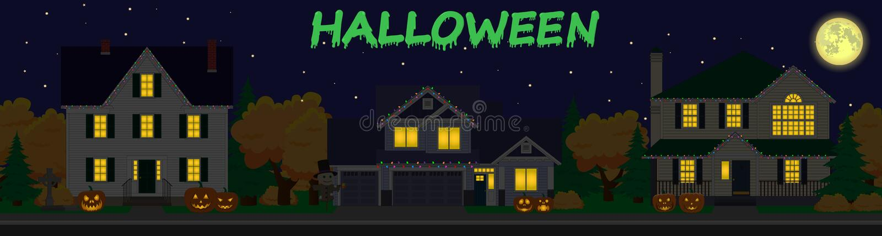 Family houses set. stock illustration