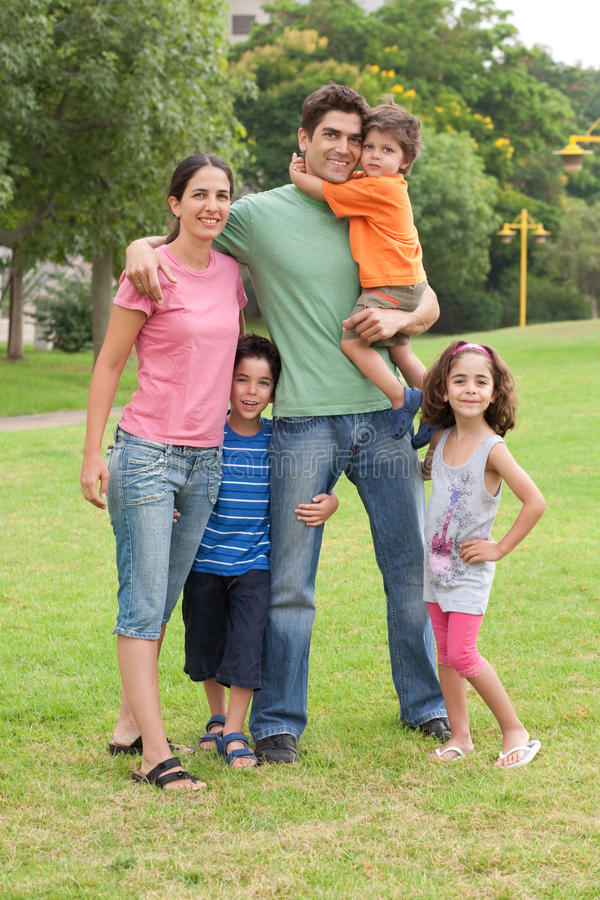 Free Family In The Summer Park Royalty Free Stock Image - 15646886