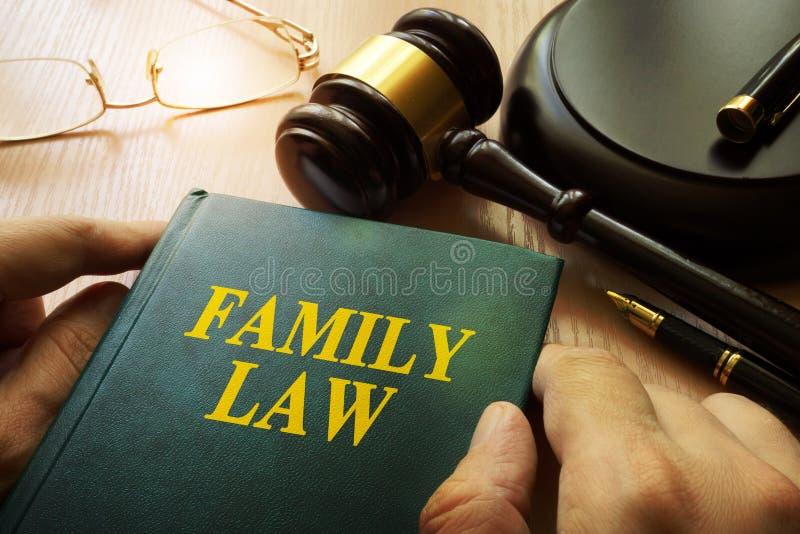Family law. stock photo