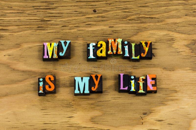 Family life friends enjoy moment stock image