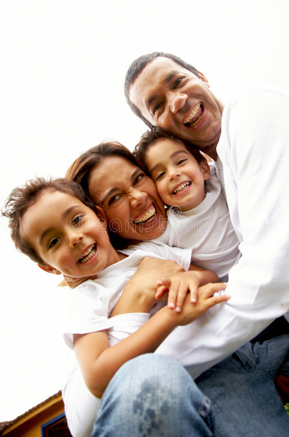Download Family lifestyle portrait stock image. Image of homely - 4144063
