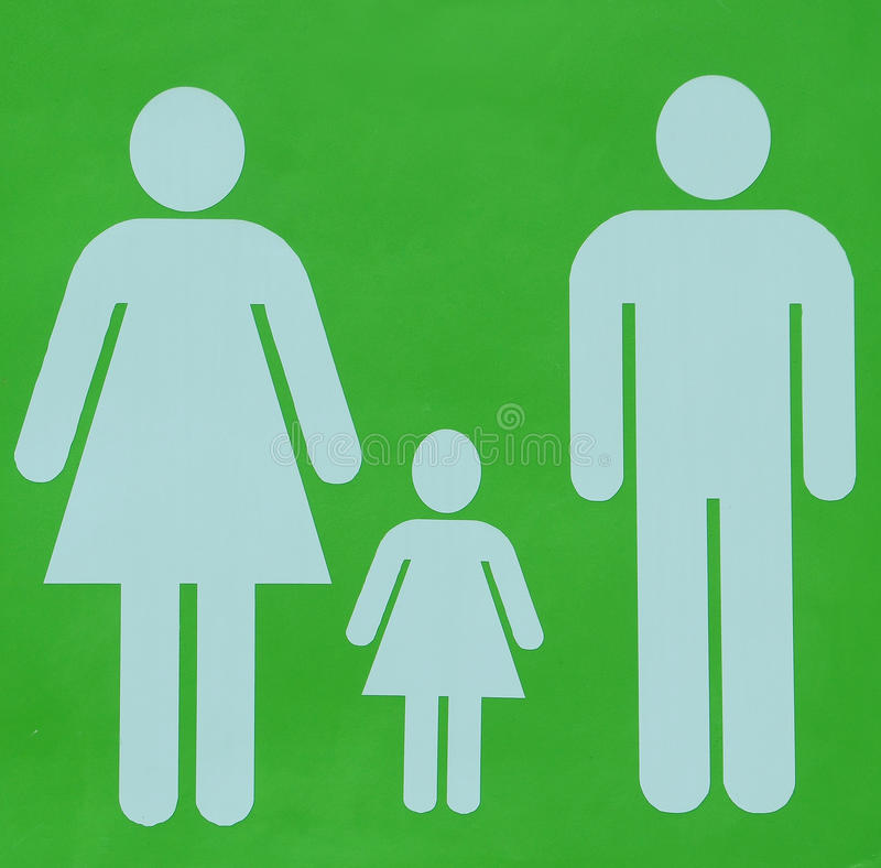 FAMILY LOGO stock photos